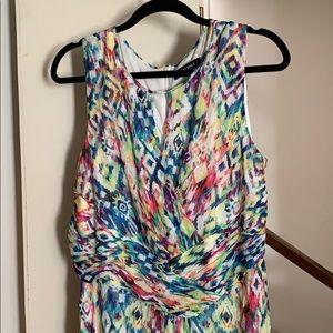 NWOT Sleeveless Maxi Dress